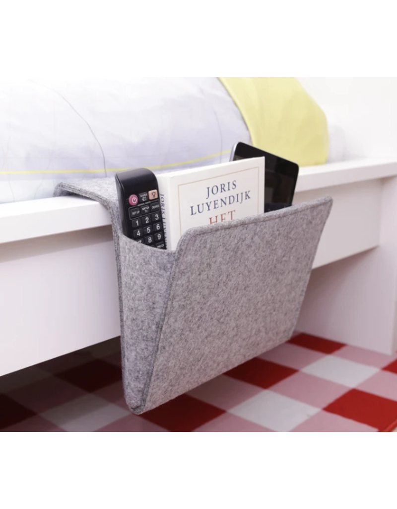 Kikkerland Designs Felt Bedside Caddy