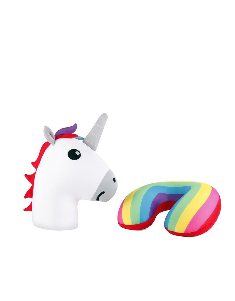 Kikkerland Designs Unicorn Zip and Flip Pillow