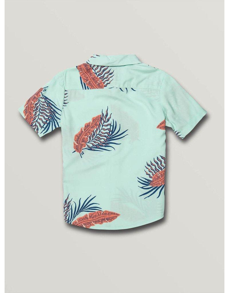 VOLCOM Little Boys Bermuda Short Sleeve Tee