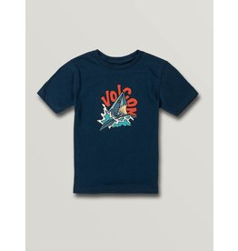 VOLCOM Little Boys Sharkish Short Sleeve Tee