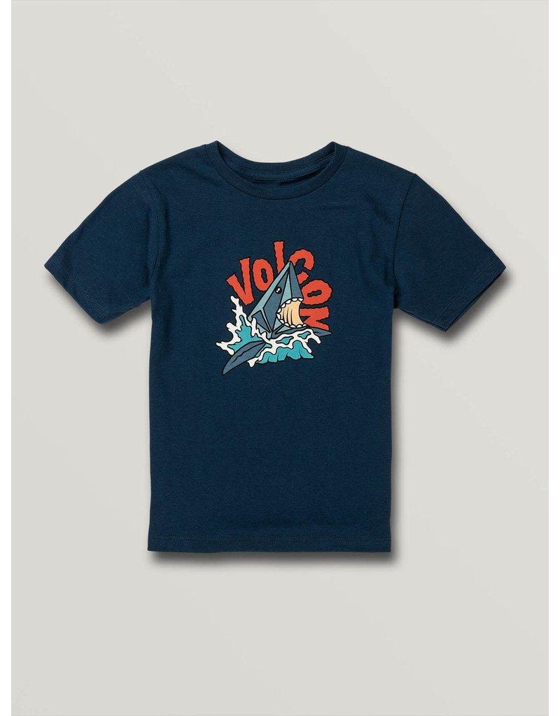 VOLCOM Little Boys Sharkish Short Sleeve Tee