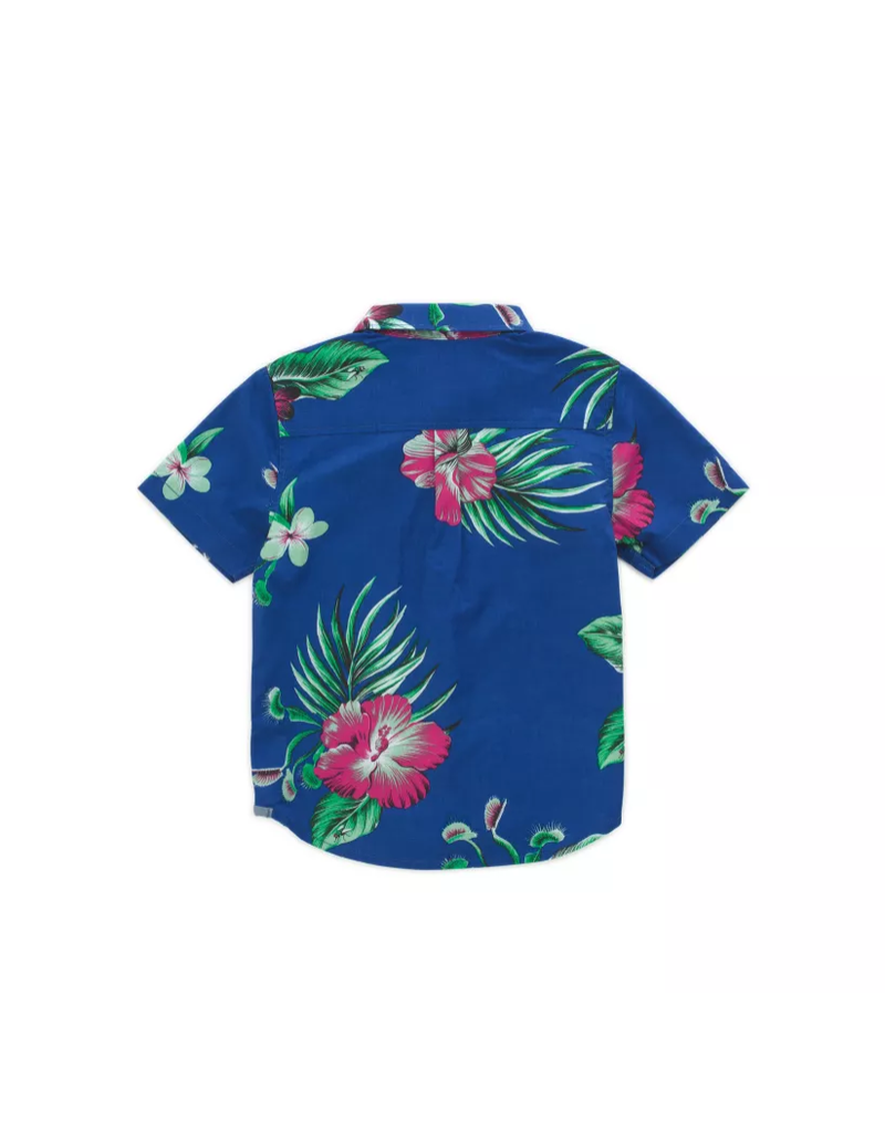 Vans Kids Trap Floral Buttondown Shirt