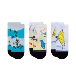 Stance Dr. Seuss 3pk Toddler Sock