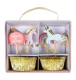 Meri Meri I Believe in Unicorns Cupcake Kit