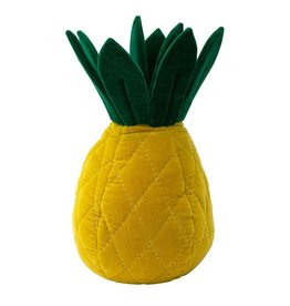 Meri Meri Pineapple Velvet Cushion
