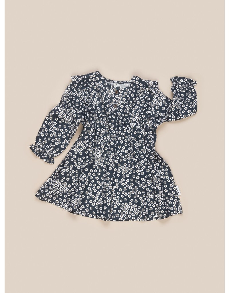HuxBaby Floral Frill Dress
