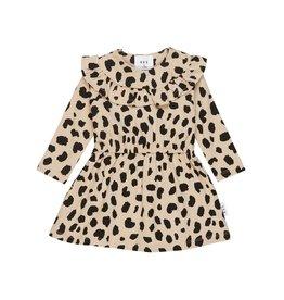 HuxBaby Animal Spot Long Sleeve Dress