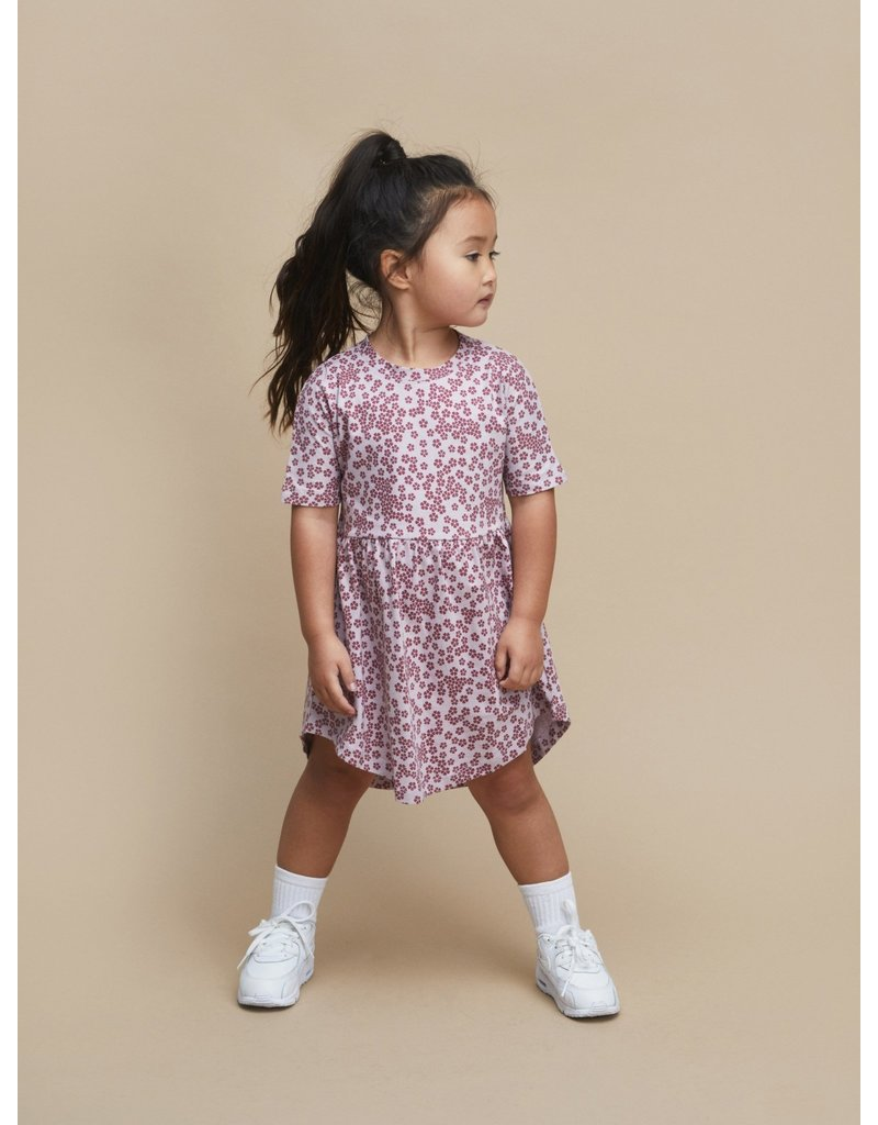 HuxBaby Floral Swirl Dress