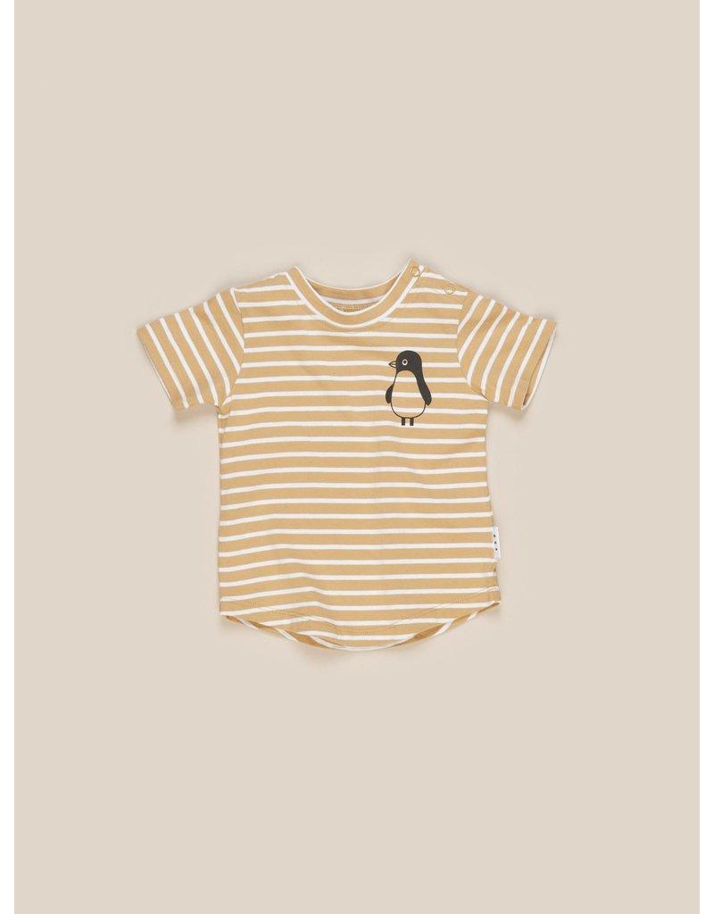 HuxBaby Mustard Stripe T-Shirt