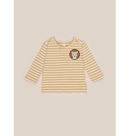 HuxBaby Mustard Stripe Top