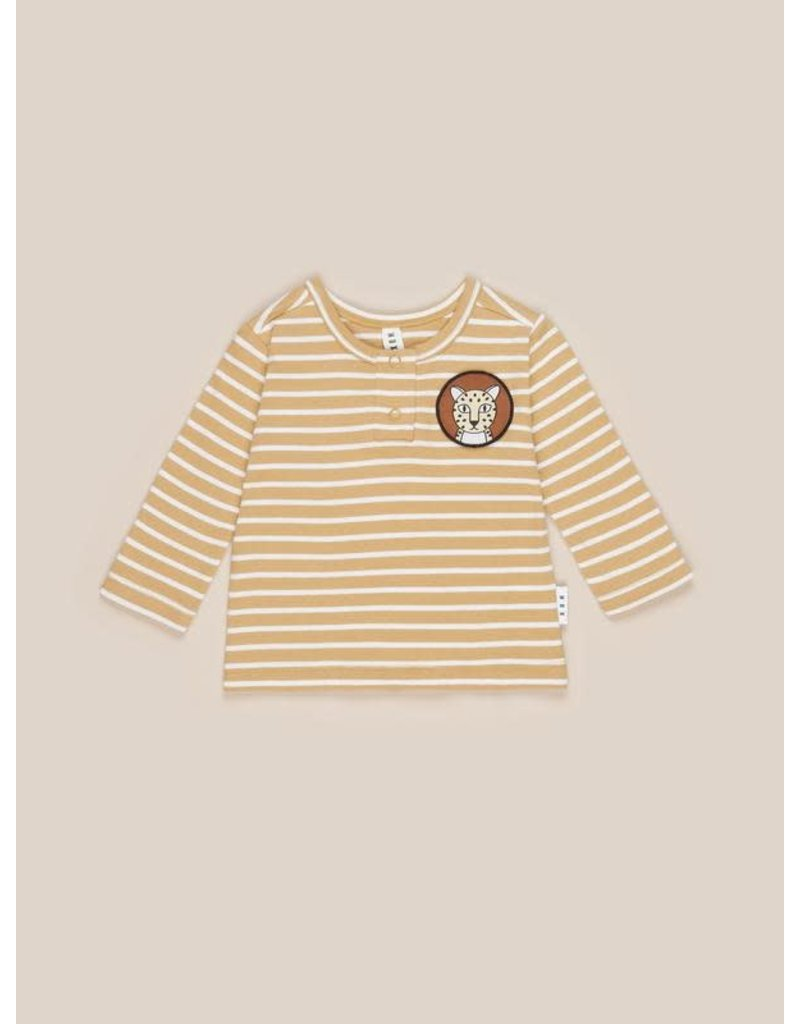 HuxBaby Mustard Stripe Top