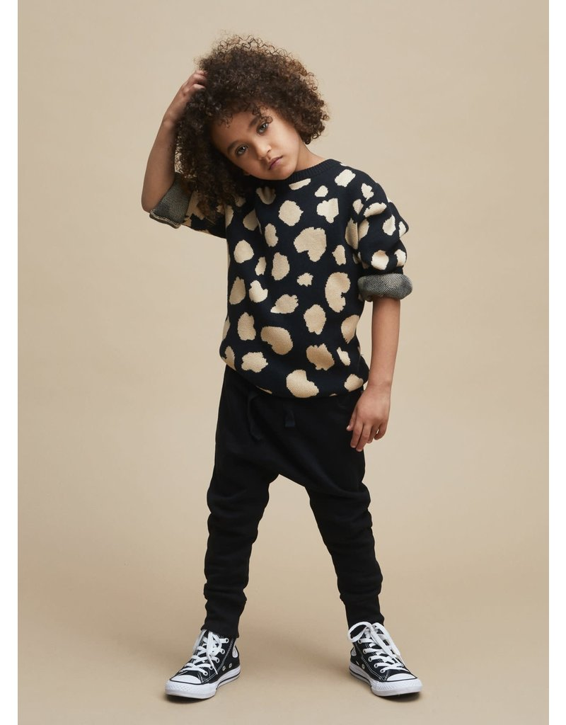 HuxBaby Animal Spot Knit Jumper