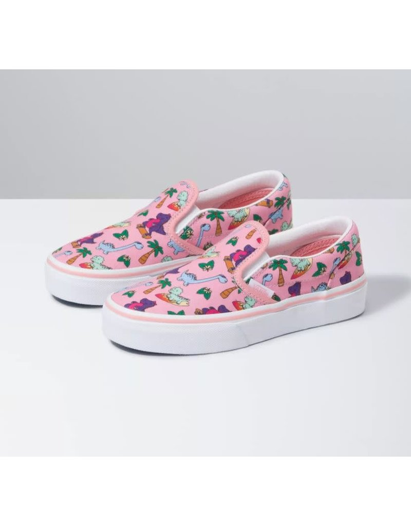 Vans Kids Surf Dinos Slip-On