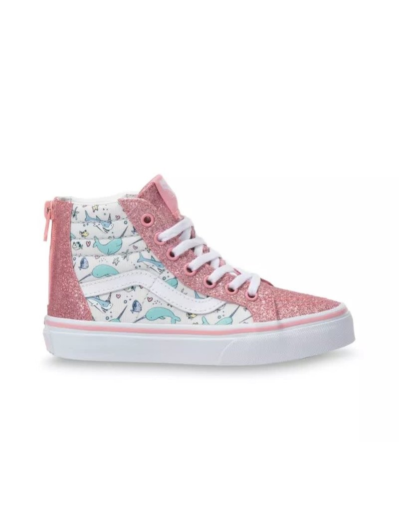 Vans Kids Shark Party Sk8-Hi Zip