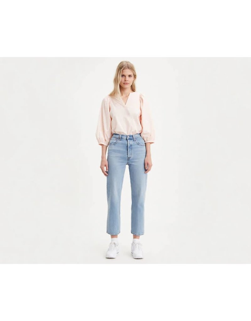Levis Womens Ribcage Straight Ankle Jeans 72693-0023