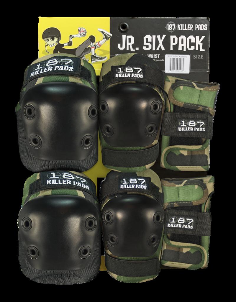 187 Killer Pads 187, Jr Six Pack Set