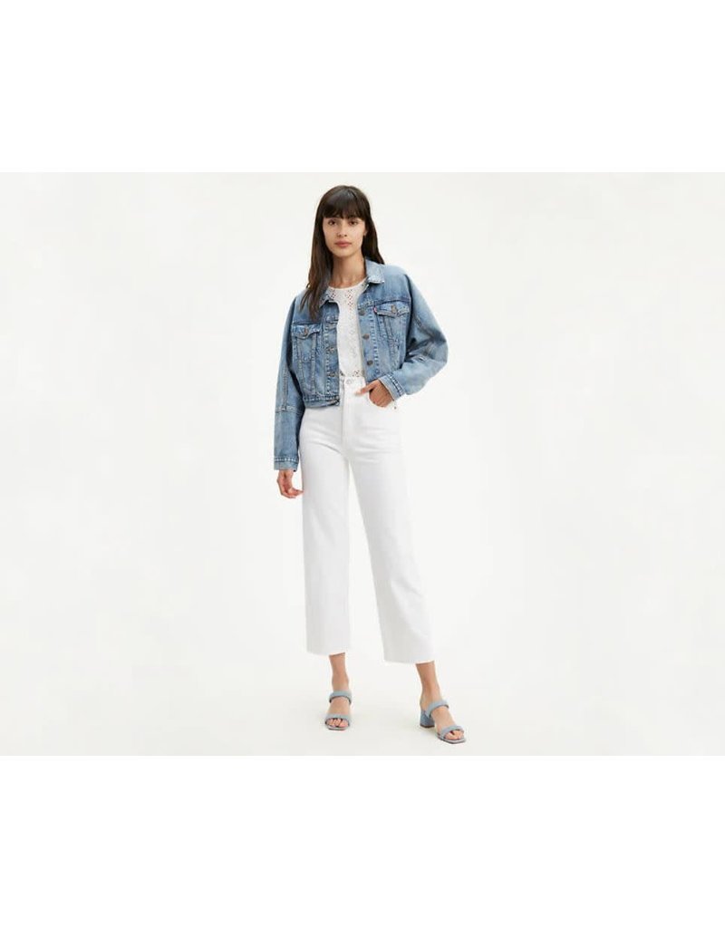 Levis Womens Ribcage Straight Ankle Jeans 72693