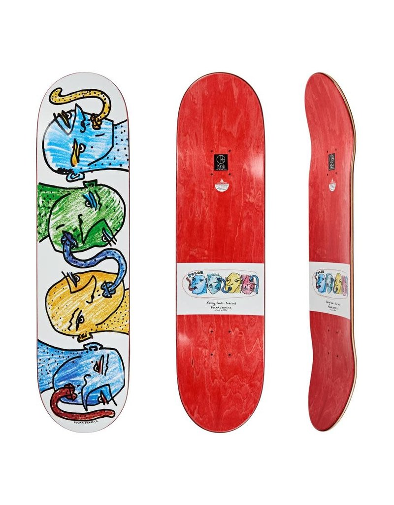 Polar Skate Co Kissing Heads Deck
