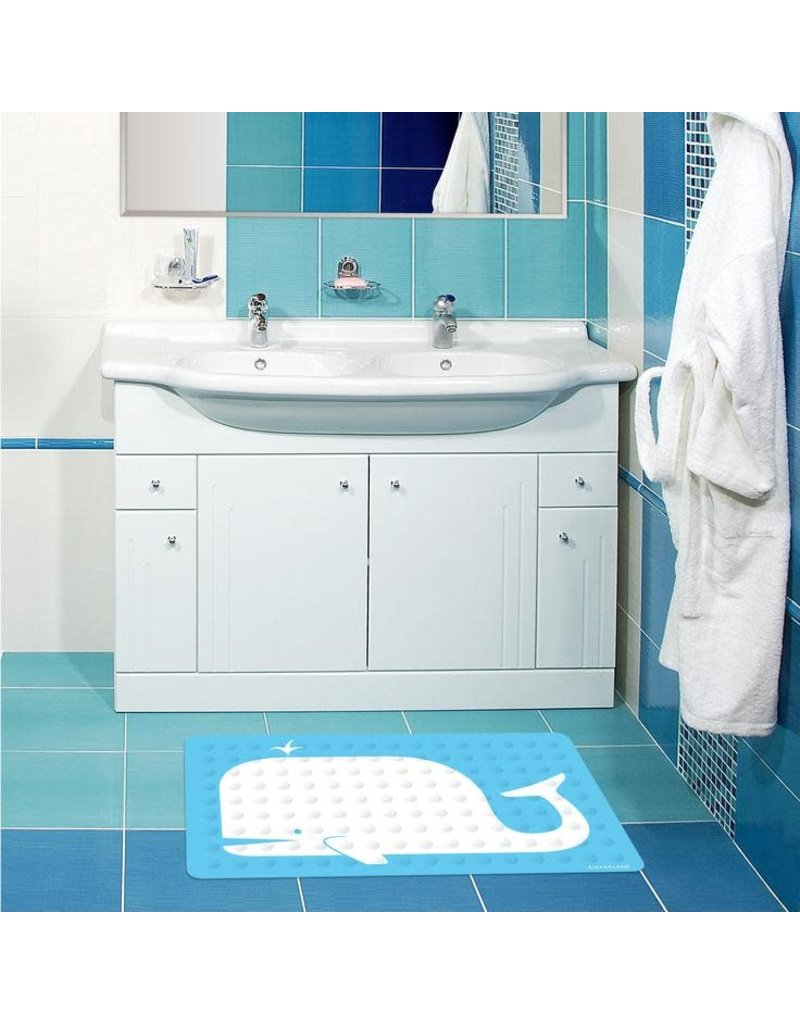 Kikkerland Designs Bath Mat Whale