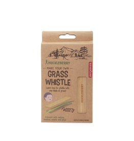 Kikkerland Designs Huckleberry Grass Whistle