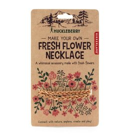 Kikkerland Designs Huckleberry Make Your Own Fresh Flower Necklace