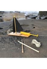 Kikkerland Designs Huckleberry Make Your Own Motor Boat