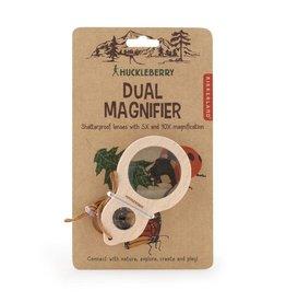 Kikkerland Designs Huckleberry Dual Magnifier