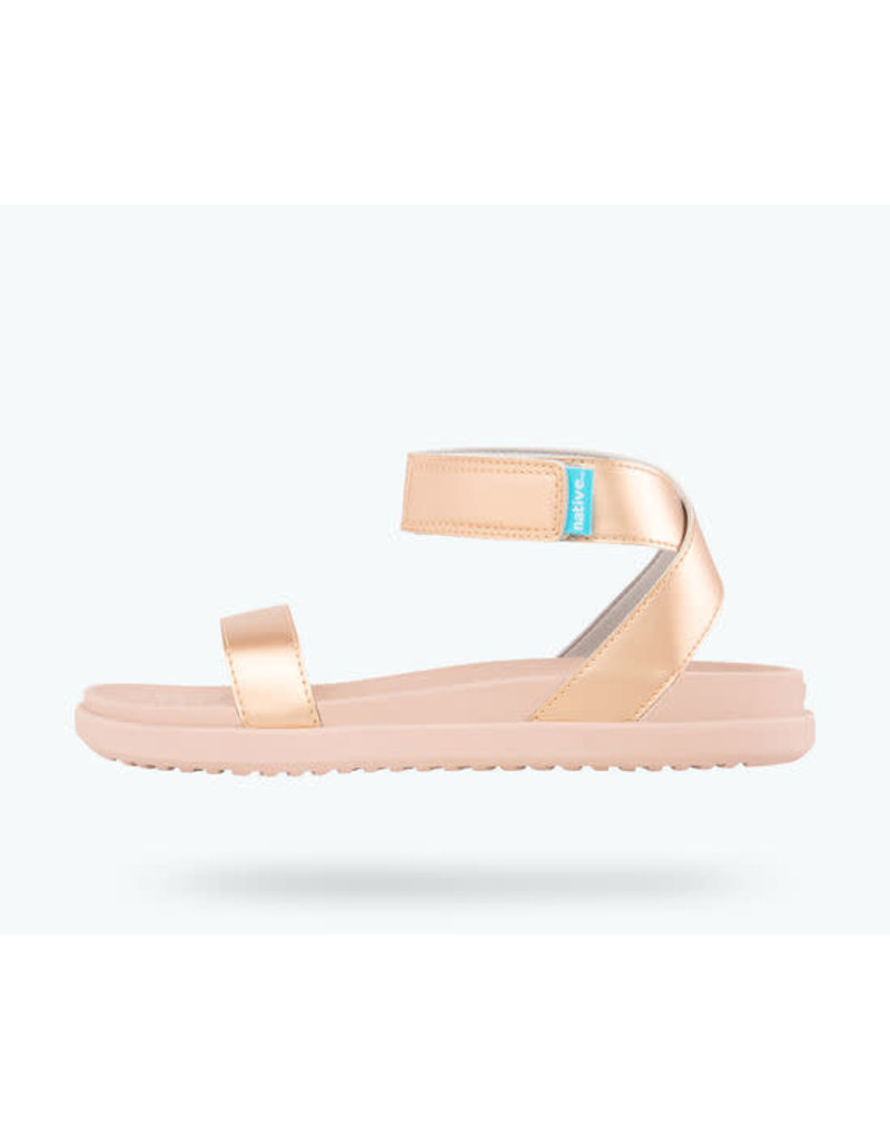 Native Juliet Metallic Sandals
