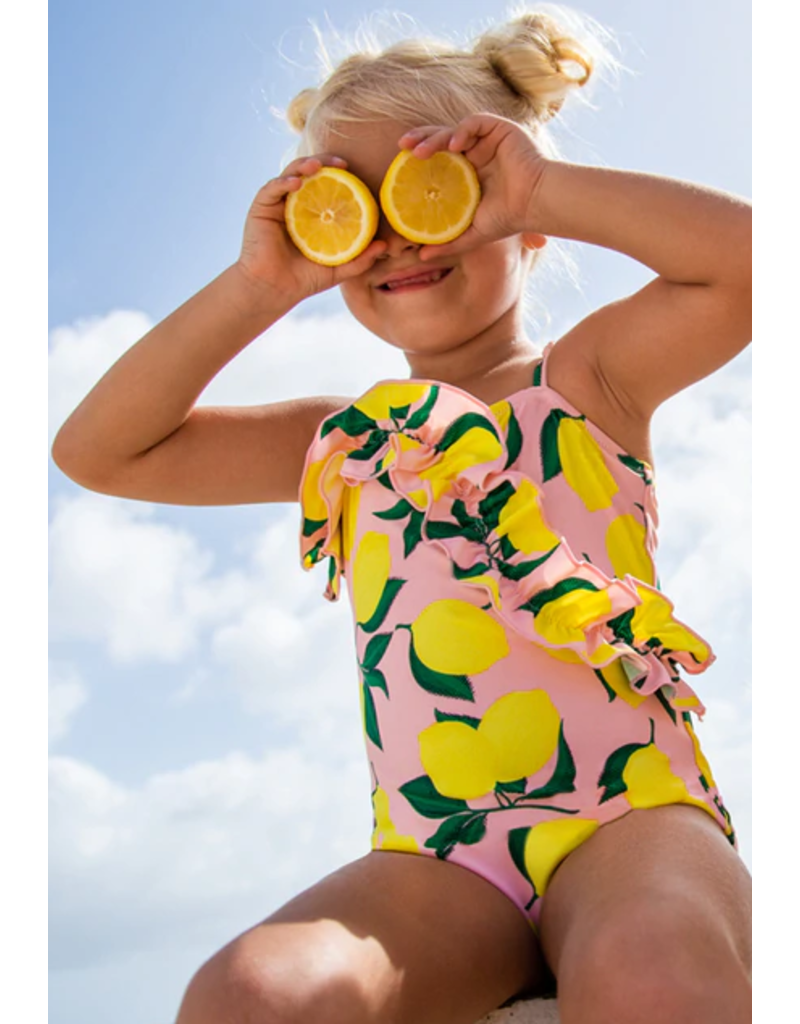 Shade Critters One Piece Ruffle Front Swimsuit