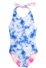 Shade Critters One Piece Halter Reversible Swimsuit