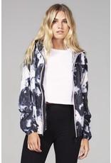 O8 Lifetsyle Mel Print Unisex Rain Jacket
