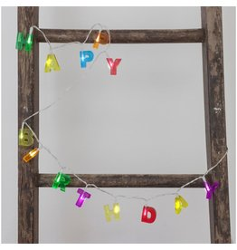 Kikkerland Designs Happy Birthday Lights