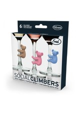Fred Social Climbers Drink Markers