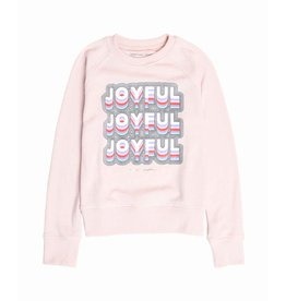 Spiritual Gangster Girls Joyful Raglan Crewneck