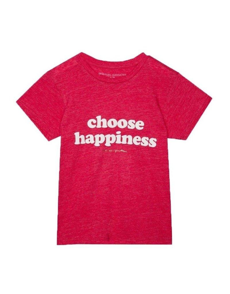 Spiritual Gangster Happiness Girls T-Shirt