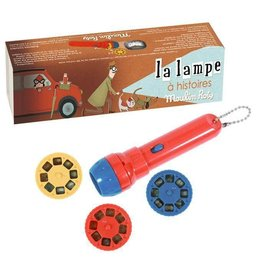 Moulin Roty Spy Story Book Torch
