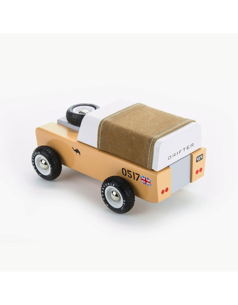 Candylab Drifter Car Sahara Brown Roof