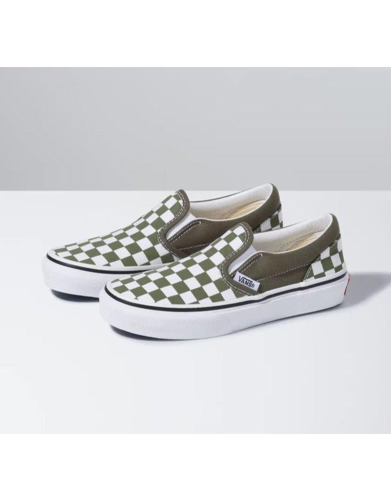 Vans Youth Checkerboard Slip-On