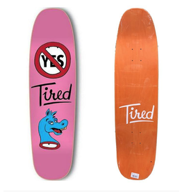 TIRED SKATEBOARD DECK