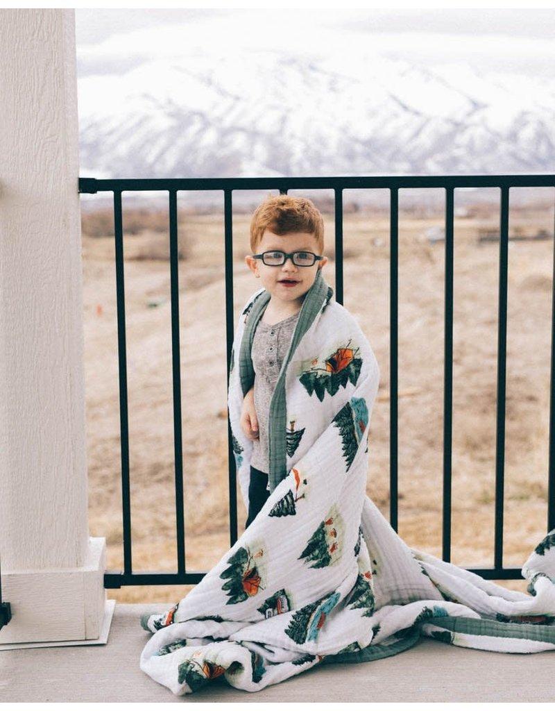 Little Unicorn Big Kid Cotton Muslin Quilt