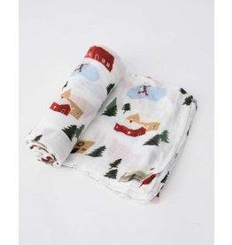Little Unicorn Deluxe Muslin Swaddle Blanket