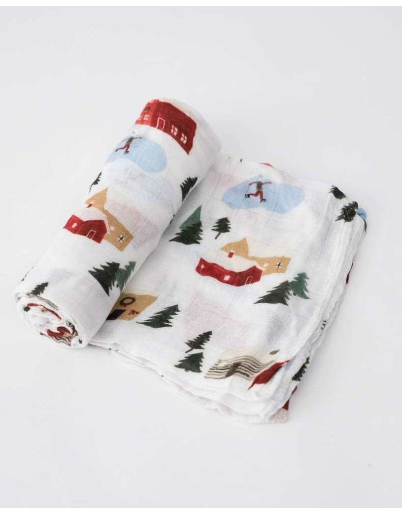 Little Unicorn Deluxe Muslin Swaddle Blanket