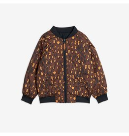 MiniRodini Insulator Leopard Reversible Jacket