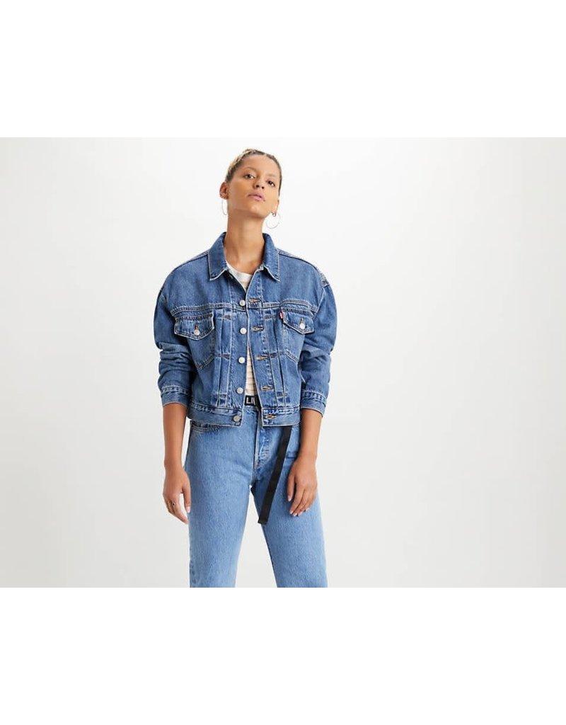 Levis Womens New Heritage Trucker Jacket 36757-0000