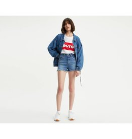 Levis Womens Ribcage Denim Shorts 77879-0001
