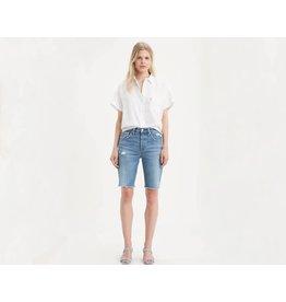 Levis Womens 501 Long Denim Shorts 85834-0001