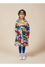 bobo choses Dinos All Over Fleece Dress