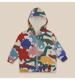 bobo choses Dinos All Over Hooded Sweatshirt