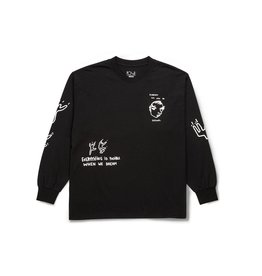 Polar Skate Co Notebook Longsleeve Tee