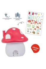 A Little Lovely Company Night Light Mushroom House